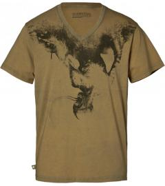 Licker V neck T-shirt